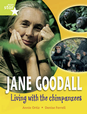 Rigby Star Guided Year 2 Jane Goodall: Lime Level: Living with the Chimps Guided Reading Pack by