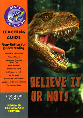 Navigator FWK Believe it or Not Teaching Guide by