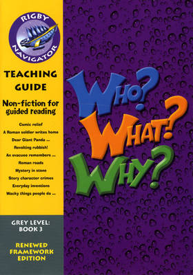Navigator FWK Who? Why? What? Teaching Guide by