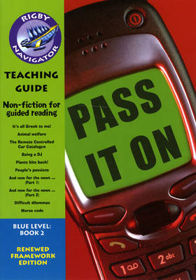 Navigator FWK: Pass it On! Teaching Guide by