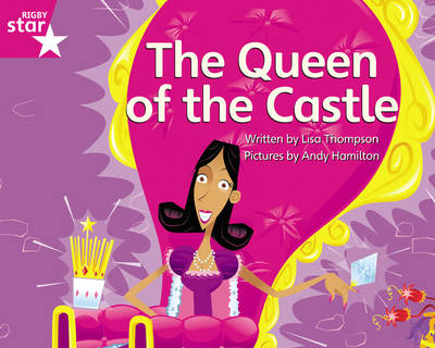 Clinker Castle Pink Level Fiction The Queen of the Castle Pack of 3: Star Adventures by Lisa Thompson