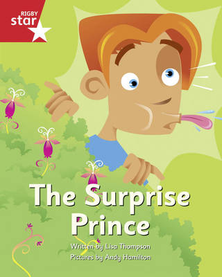 Clinker Castle Red Level Fiction: The Surprise Prince by Lisa Thompson