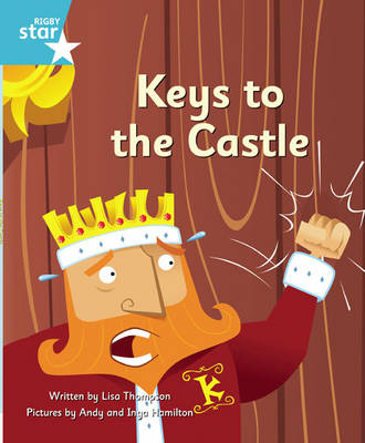 Clinker Castle Turquoise Level Fiction Keys to the Castle Pack of 3: Star Adventures by Lisa Thompson