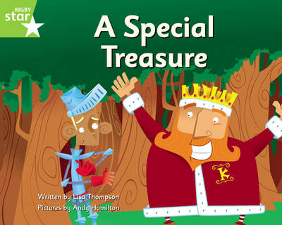 Clinker Castle Green Level Fiction: A Special Treasure Single by Lisa Thompson, Katy Pike