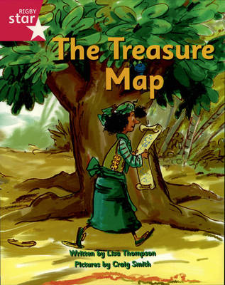 Pirate Cove Pink Level Fiction: The Treasure Map by Lisa Thompson, Alison Hawes