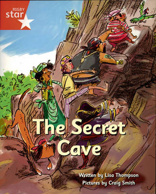 Pirate Cove Red Level Fiction: The Secret Cave by Lisa Thompson, Alison Hawes