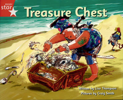 Pirate Cove Red Level Fiction: The Treasure Chest by Lisa Thompson, Alison Hawes