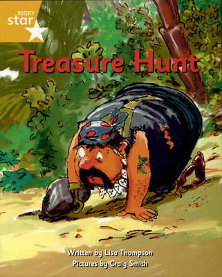 Pirate Cove Yellow Level Fiction: Treasure Hunt by Lisa Thompson, Alison Hawes