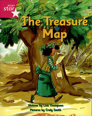 Pirate Cove Pink Level Fiction: The Treasure Map Pack of 3 by Lisa Thompson