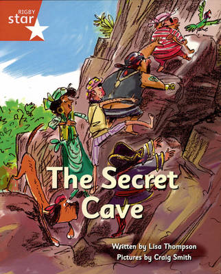 Pirate Cove Red Level Fiction: Secret Cave Pack of 3 by Lisa Thompson