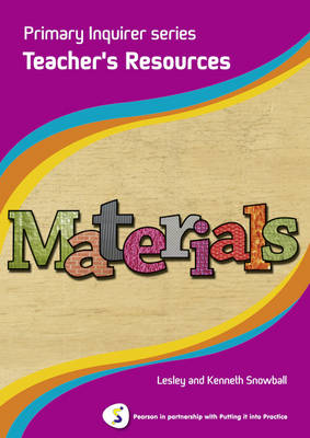 Materials Teacher Book Pearson in Partnership with Putting it into Practice by Lesley Snowball, Kenneth Snowball