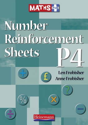 Number Reinforcement Worksheets P4 by Len Frobisher