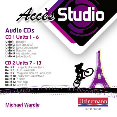 Acces Studio (Transition) Audio CD by Michael Wardle