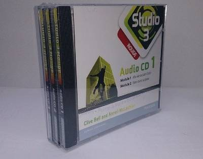 Studio 3 Rouge Audio CDs (pack of 3) (11-14 French) by Anneli McLachlan, Clive Bell