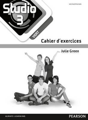 Studio 3 Vert Workbook (pack of 8) (11-14 French) by Julie Green