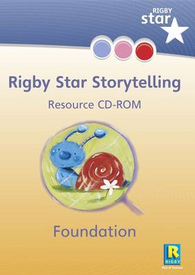 Rigby Star Audio Big Books Foundation CD-ROM Wave 1 by Monica Hughes, Moira Andrew, Tony Mitton, Fay Robinson
