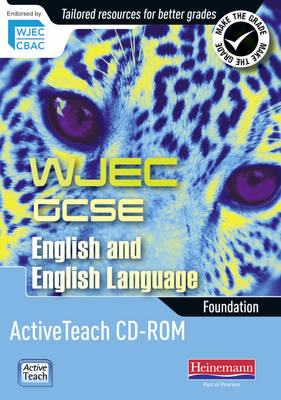WJEC GCSE English and English Language Foundation Active Teach CD-ROM by David Grant