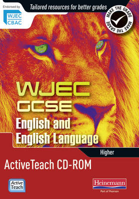WJEC GCSE English and English Language Higher Active Teach CD-ROM by David Grant