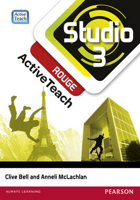 Studio 3 rouge ActiveTeach (11-14 French)CDROM by Anneli McLachlan, Clive Bell