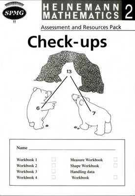 Heinemann Maths 2: Check-up Booklets (8 Pack) by Scottish Primary Maths Group SPMG