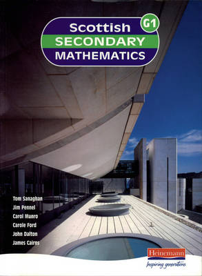 Scottish Secondary Maths Green 1 Student Book by Tom Sanaghan