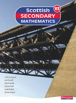 Scottish Secondary Mathematics Red 3 Student Book by Tom Sanaghan