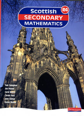 Scottish Secondary Mathematics Red 4 Student Book Supporting Curriculum for Excellence by Tom Sanaghan