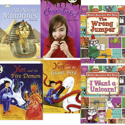 Learn to Read at Home with Bug Club: Purple Pack (Pack of 6 Reading Books with 4 Fiction and 2 Non-Fiction) by Sheila May Bird, Diana Noonan, Charlotte Raby, Dianne Irving