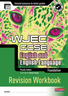 REVISE GCSE WJEC English Language Workbook Foundation by Paula Adair