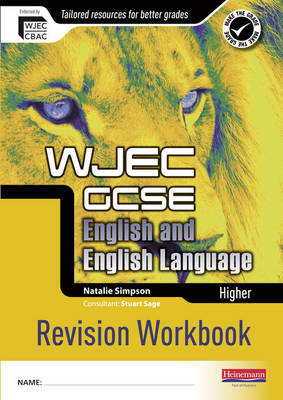 Revise GCSE WJEC English Language Workbook Higher Pack of 10 by Natalie Simpson