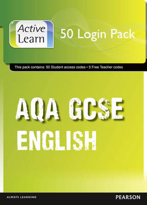 AQA GCSE English and English Language ActiveLearn 50 User Pack by