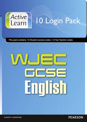 WJEC GCSE English and English Language ActiveLearn 10 User Pack by