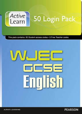 WJEC GCSE English and English Language ActiveLearn 50 User Pack by