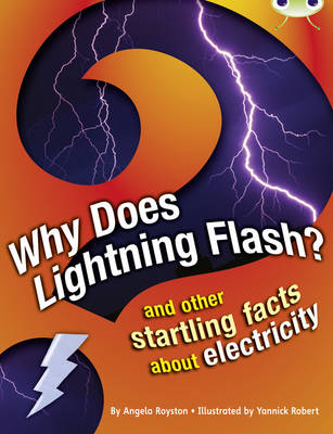 Why Does Lightning Flash? NF Grey A/3a And Other Startling Facts About Electricity by Angela Royston