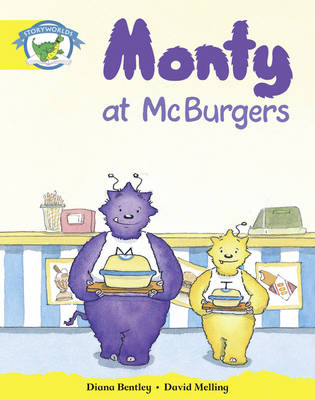 Literacy Edition Storyworlds Stage 2, Fantasy World, Monty at McBurgers by Diana Bentley