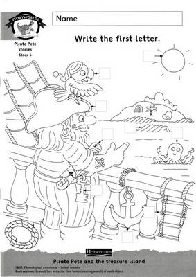 Storyworlds Year1/P2 Stage 4, Fantasy World, Workbook by Diana Bentley, Dee Reid