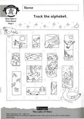 Storyworlds Yr1/P2 Stage 5 Easy Order Workbook Pack by Diana Bentley, Dee Reid
