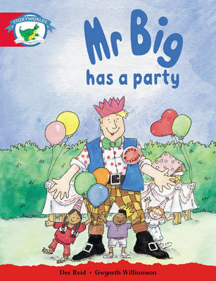 Storyworlds Reception/P1 Stage 1, Fantasy World, Mr Big Has a Party (6 Pack) by