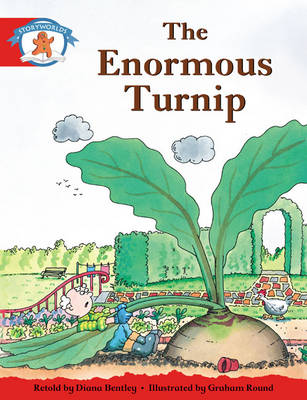 Storyworlds Reception/P1 Stage 1, Once Upon a Time World, the Enormous Turnip (6 Pack) by