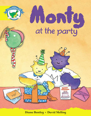 Storyworlds Reception/P1 Stage 2, Fantasy World, Monty and the Party (6 Pack) by Diana Bentley