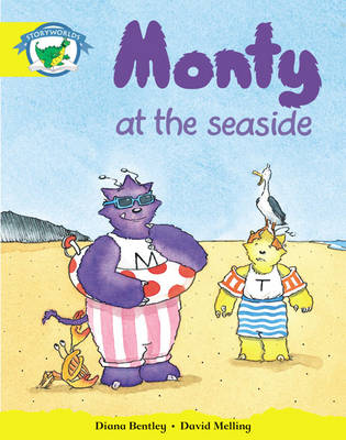 Storyworlds Reception/P1 Stage 2, Fantasy World, Monty and the Seaside (6 Pack) by Diana Bentley