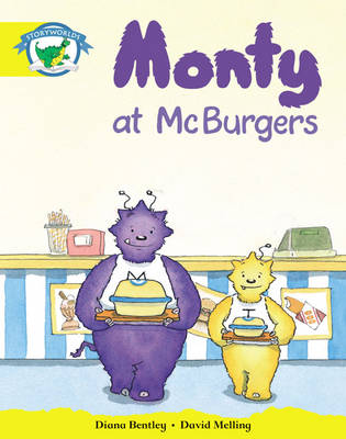Storyworlds Reception/P1 Stage 2, Fantasy World, Monty at McBurgers (6 Pack) by Diana Bentley