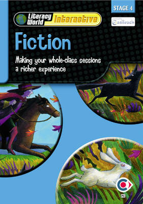 Literacy World Interactive Stage 4 Fiction: Software Multi User Pack Scotland/NI by