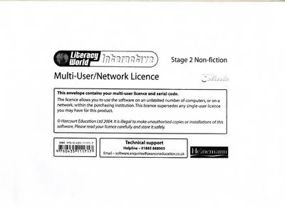 Literacy World: Interactive - Stage 2 Non-Fiction Multi User Licence by