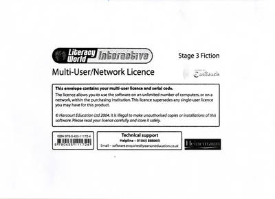 Literacy World: Interactive - Stage 3 Fiction Multi User Licence by