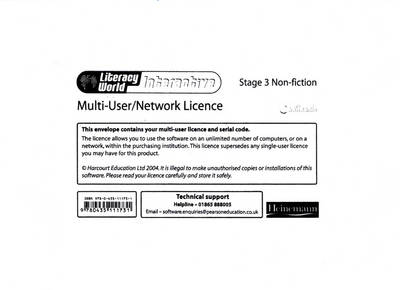 Literacy World Interactive Stage 3 Non-fiction Multi User Licence by