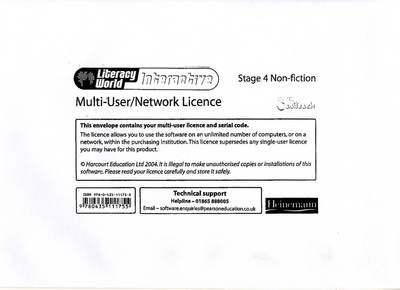 Literacy World: Interactive - Stage 4 Non-Fiction Multi User Licence by