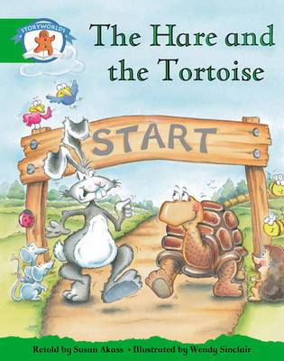 Storyworlds Reception/P1 Stage 3, Once Upon a Time World, the Hare and the Tortoise (6 Pack) by