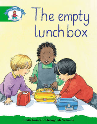 Storyworlds reception/P1 Stage 3, Our World, the Empty Lunch Box by Keith Gaines