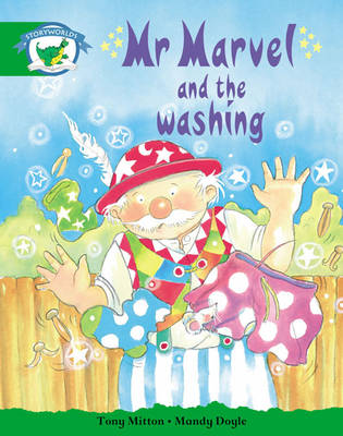 Storyworlds Reception/P1 Stage 3, Fantasy World, Mr Marvel and the Washing (6 Pack) by